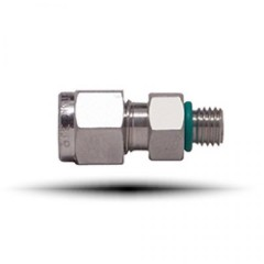 Male Connector SAE/MS Straight Thread